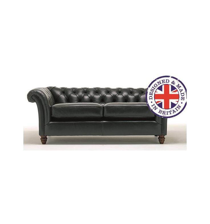Canapé cuir CAMBRIDGE – Canapé cuir design – Boutique meubles design