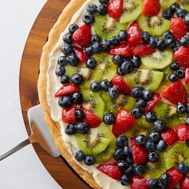 Blueberry Fritter Cake