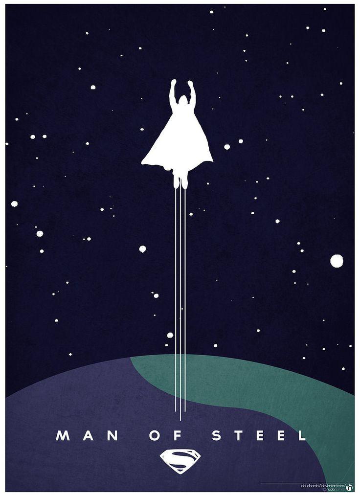 minimalist_man_of_steel_poster_by_cloudbomb7-d65ft5u   Flickr