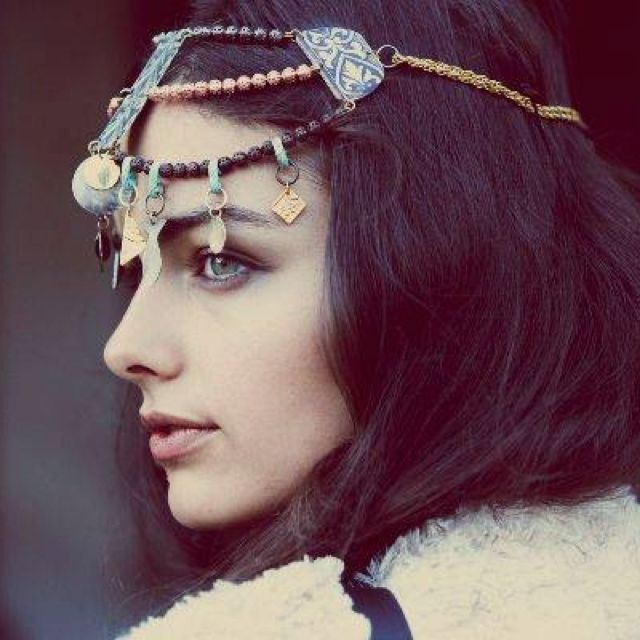 : Fashion, Guy Aroch, Style, Headpiece, Jewelry, Free People, Hair, Photo, Bohemian
