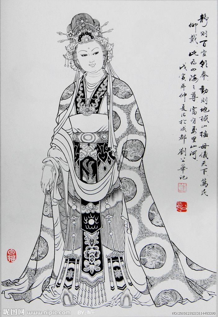 Her name is Wu Zetian. She is the first queen in the history of China. and she is the only queen in the ancient of China.