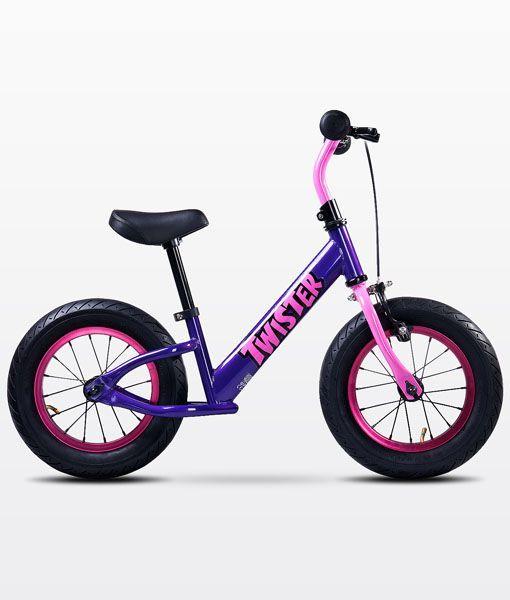 Bicicleta sin pedales Twister Toyz violeta [TWISTER VIOLETA] | 89,00€ : La tienda online para tu peke | tienda bebe pekebuba.com