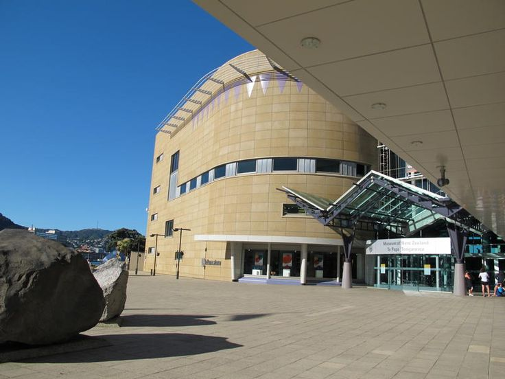 Wellington - Museum of New Zealand Te Papa Tongarewa (My Destination)