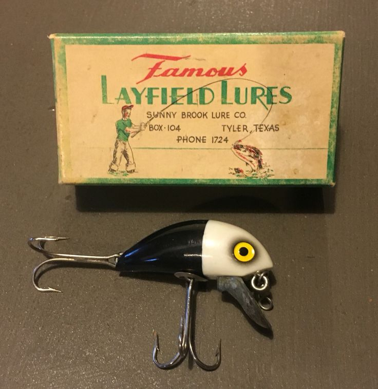 17 best ideas about vintage fishing lures on pinterest | fishing, Fishing Bait