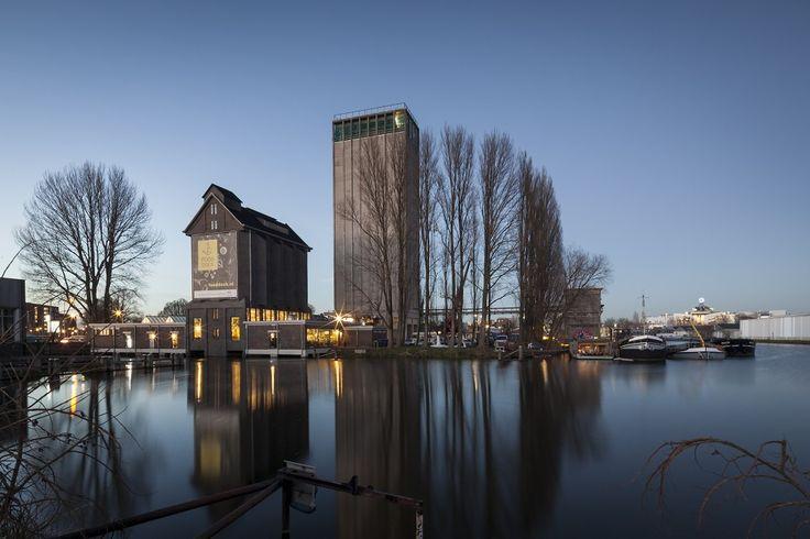 Karakteristieke silo herbestemd tot Fooddock