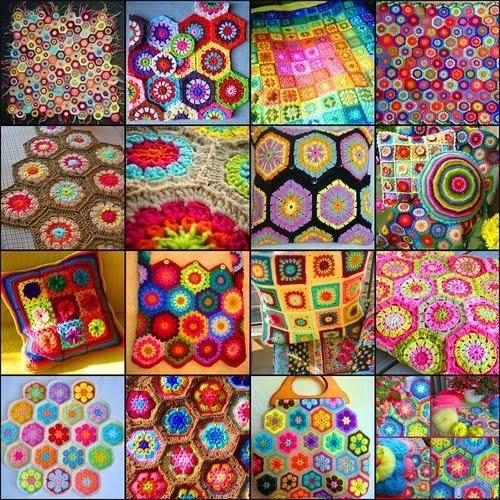 Colours in crochet