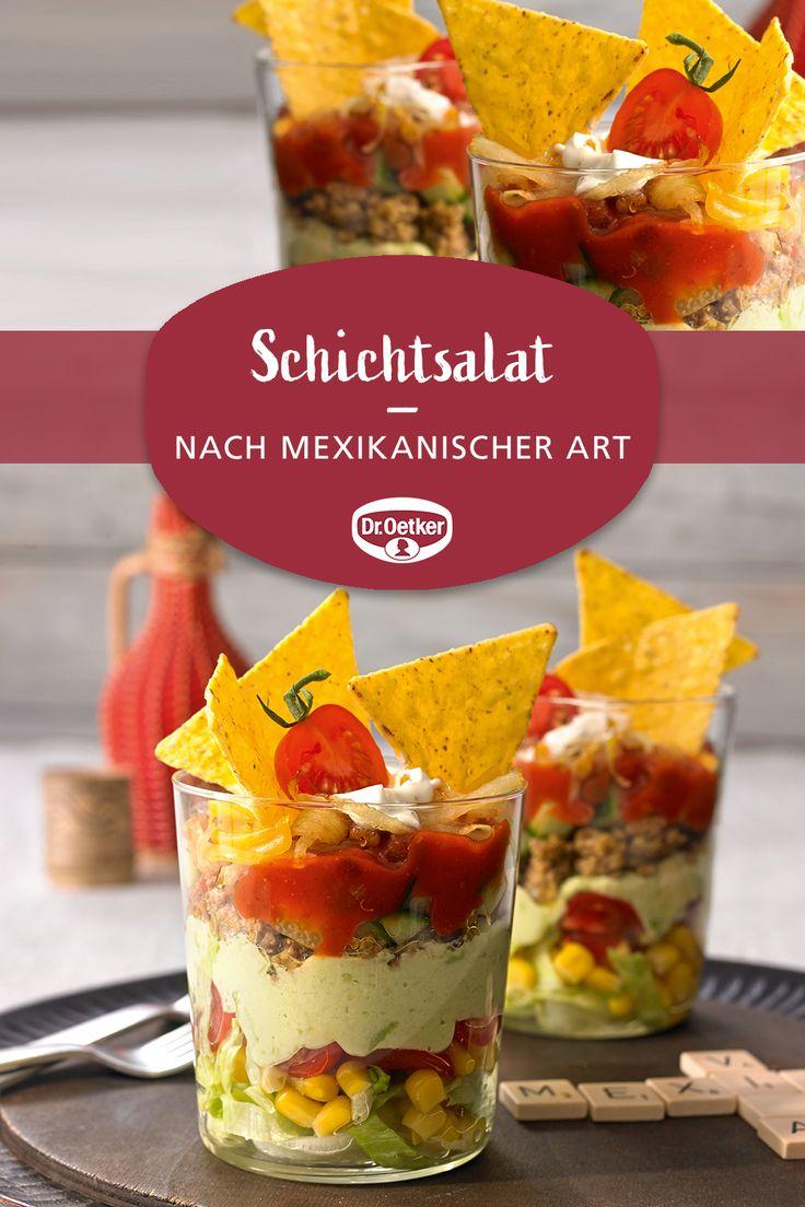 Schichtsalat Mexikanische Art