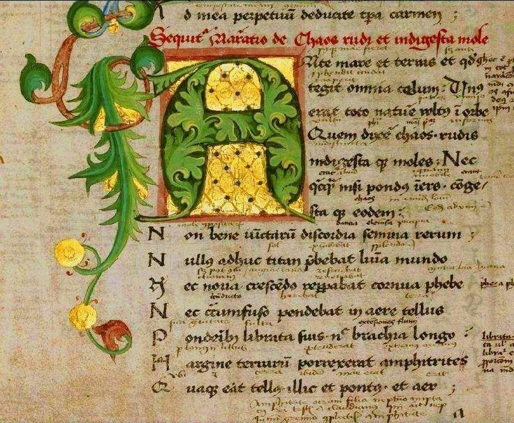 Medieval Manuscripts Illuminated Letters
