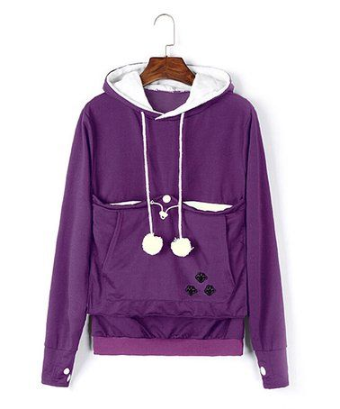 6023152ddec Love this Purple Pet Pouch Sweatshirt by Royal Wise on  zulily!  zulilyfinds