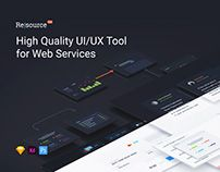 Resourсe | UI/UX Tool for Web Services