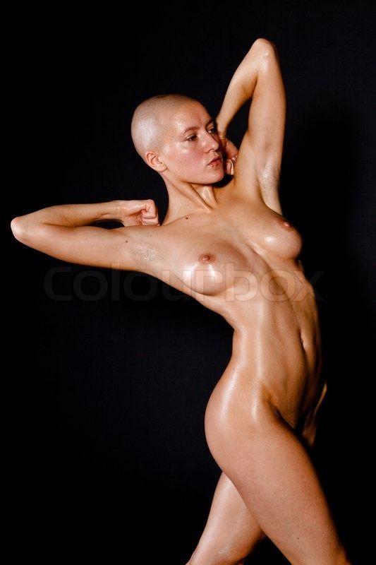 Bald girls naked ass