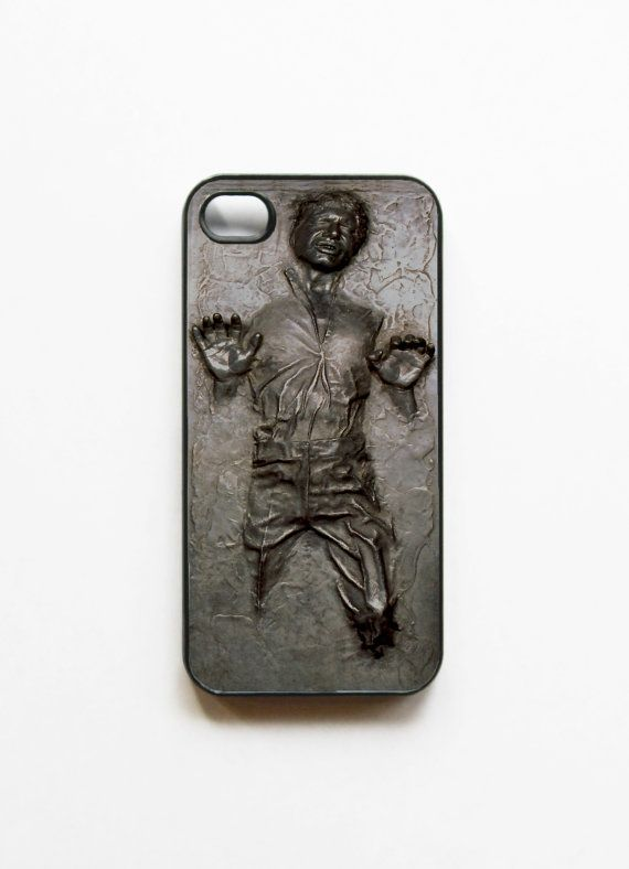 Han Solo Frozen in Carbonite — iPhone Case