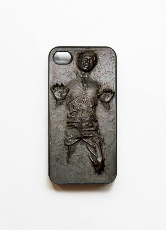 Han Solo Frozen in Carbonite iPhone 4 & 4S Case: Iphone Cases, Hansolo, Iphone 4S, Solo Iphone, Star Wars, Han Solo, Carbonite Iphone, Starwars