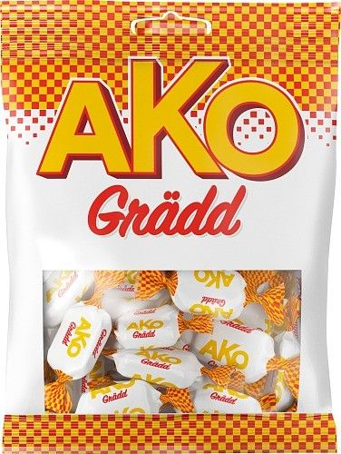AKO Cream with a classical creamy taste of toffee.