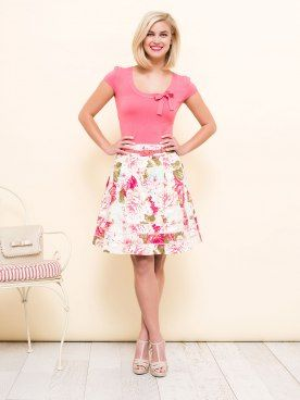 Promise Skirt from Review. A beautiful day outfit.  #thinkpink #promiseskirt #reviewaustralia