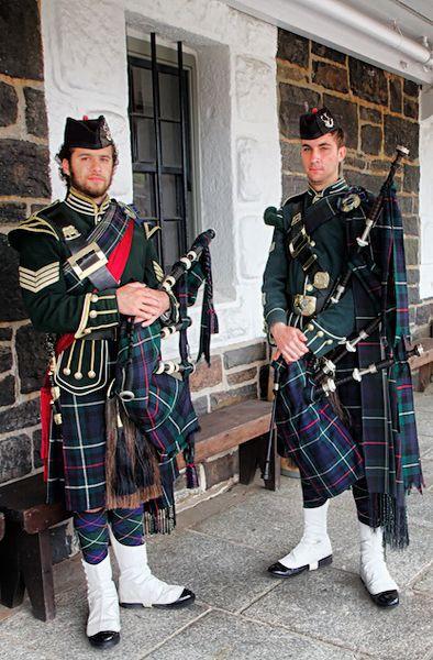 Bagpipers at the Citadel, Halifax, Nova Scotia