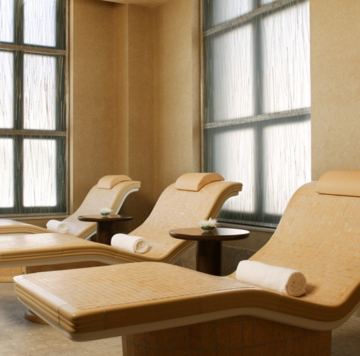 Heated Tile Chairs for a steam room for a Spa!