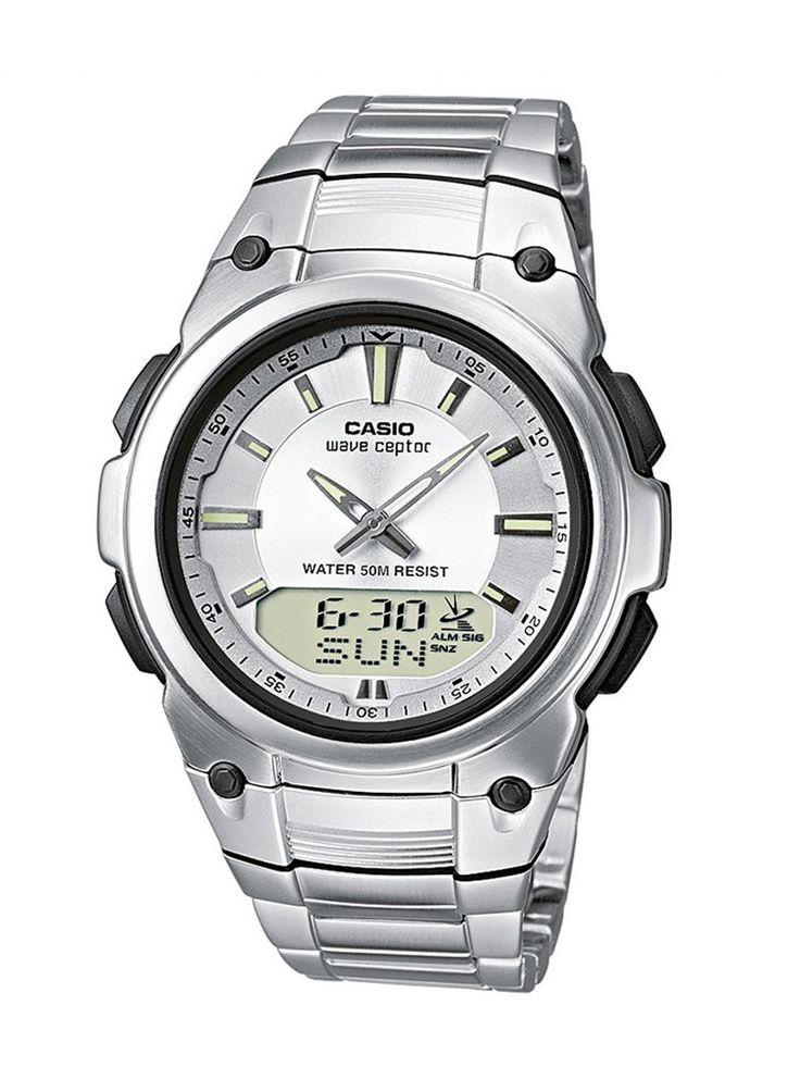 Ebay Herrenuhren Casio Funkuhren Herren-Armbanduhr Analog / Digital Quarz WVA-109HDE-7AVER: EUR 72,99 Angebotsende: Montag…%#Quickberater%