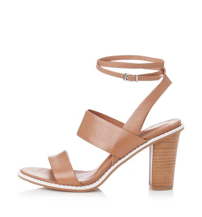Alias Mae -  Erlette sandals in stock in Dark Natural. Shipping Australia wide.