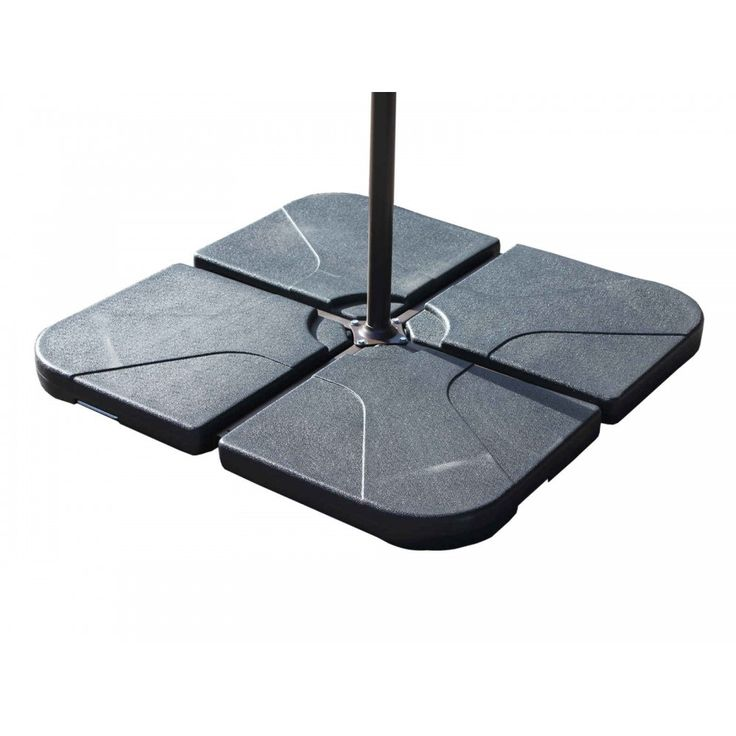 all weather easy fill water tight bases for cantilever parasol suitable for garden or patio