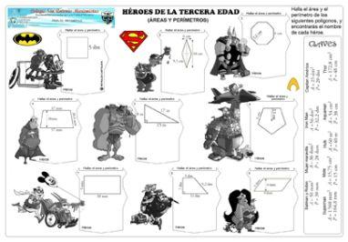 """Añadimos 2fichas nuevas fichas para trabajar los perímetros y las áreas realizadas por Reynaldo OswaldoCartolín RosadoProfesor de Matemática – Física desde el Colegio San Antonio Marianistas del Callao,Lima (Perú) DESCARGAR FICHA """"PERÍMETROS DE CUADRILÁTEROS"""" DESCARGAR FICHA """"ÁREAS Y PERÍMETROS"""" Si compartes este material: Nuestro material está bajo licencia Creative Commons …"""