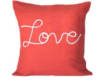 Turquoise lumbar pillow cover 21x11 nautical pillow by anitascasa