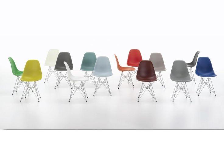Eames Plastic Side Chair DSR Stuhl Vitra - ABVERKAUF designed by - badezimmer ausstellung abverkauf