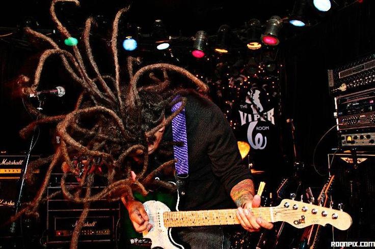 Nelson #dreads #dreadlocks #guitar #viperroom #music #live #medusa #band