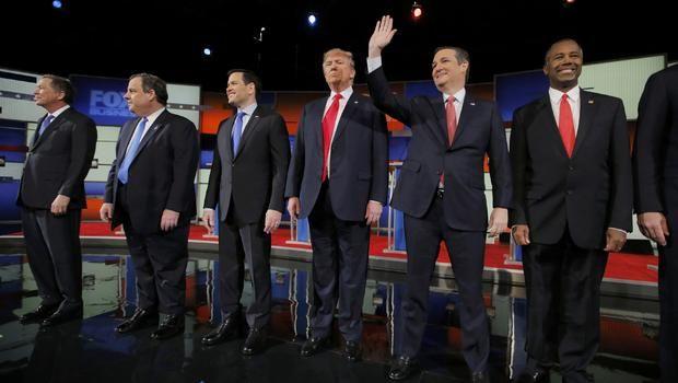Transcript: Sixth Republican top-tier debate 2016