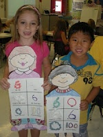 """Great """"all about me"""" beginning of year activity using numbers (ie. I have __ people in my family.  I have __ pets.  I have lost __ teeth. etc."""