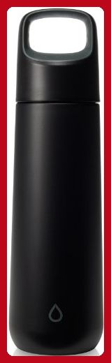 KOR Vida BPA Free Stainless Steel Water Bottle, 750ml, Anthracite Black - Little daily helpers (*Amazon Partner-Link)