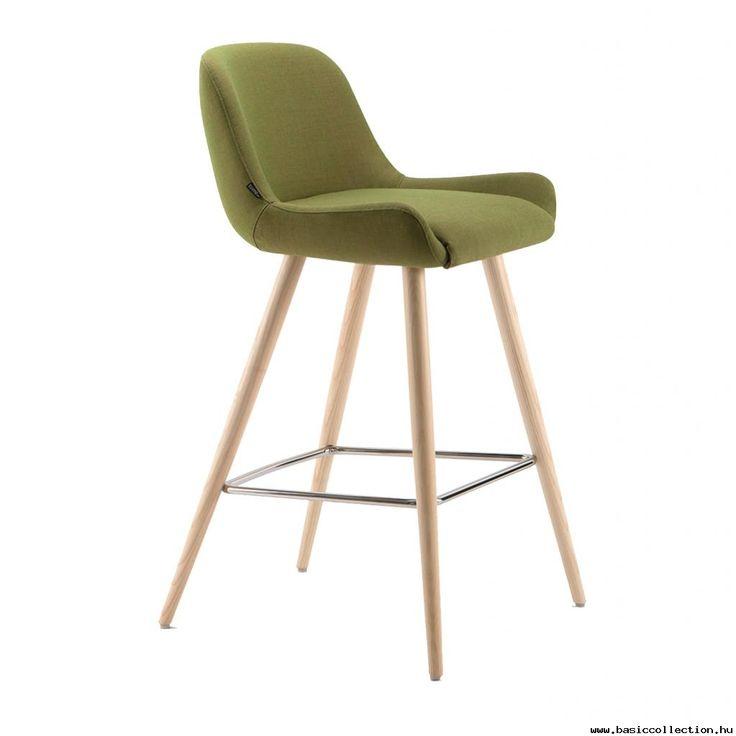 Luminosa barstool #basiccollection #barstool #upholstered #wooden