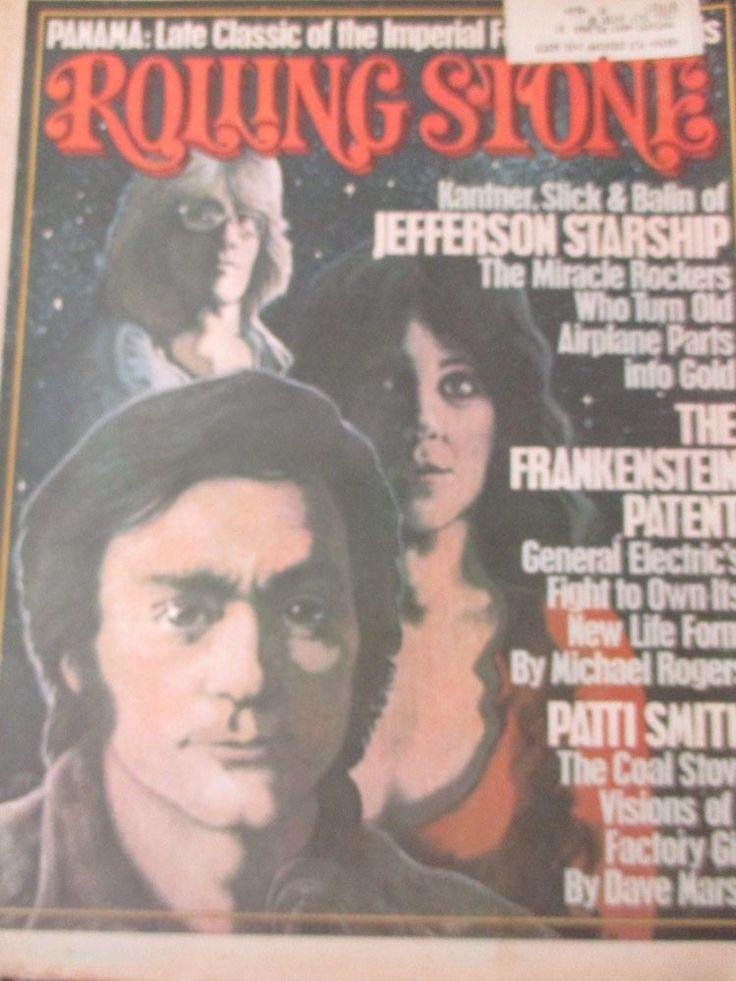 Rolling Stones Magazine Jefferson Starship issue 203/1976 #rollingstones
