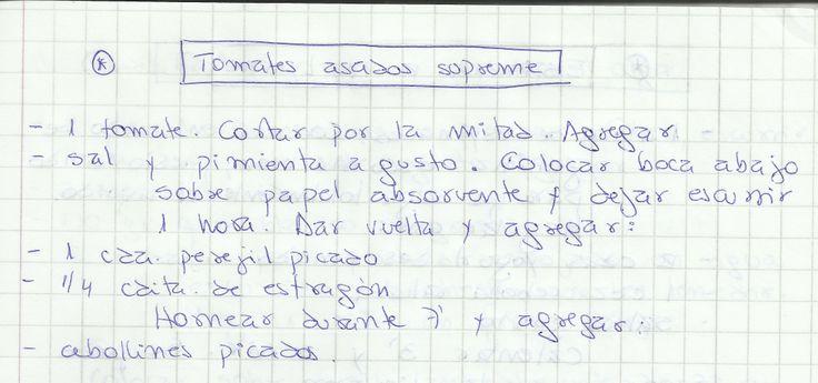 TOMATES ASADOS SUPREME   #SALADO #ENTRADAS #ENTRADA #TOMATES