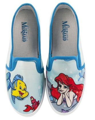 Disney Discovery- The Little Mermaid Slip On Shoes