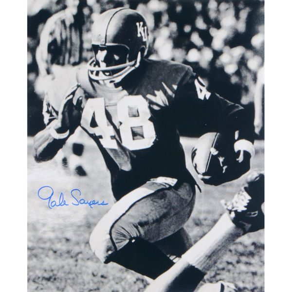 "Gale Sayers Kansas Jayhawks Fanatics Authentic Autographed 16"" x 20"" Ball In One Hand Photograph - $74.99"