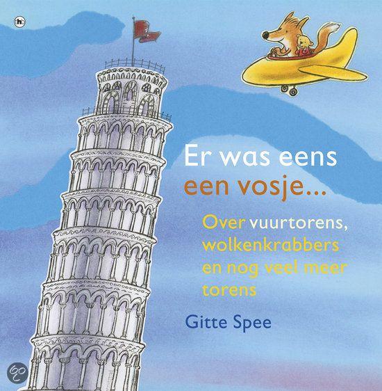 In de prentenboeken top 10.  Vosje is geboren in een land met veel huizen, maar geen enkele toren. Hij bouwt een vliegtuig en reist samen met zijn knuffelbeer de wereld af op zoek naar een mooie toren om in te wonen.