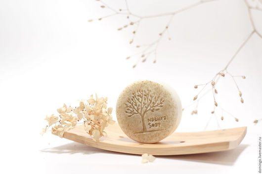 Мыло ручной работы. Ярмарка Мастеров - ручная работа. Купить Мыло Белая глина и Розовое дерево. Handmade. Бежевый, мыло