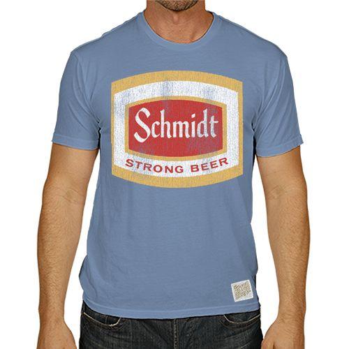 Schmidt's Beer Men's Short Sleeve Vintage Tee
