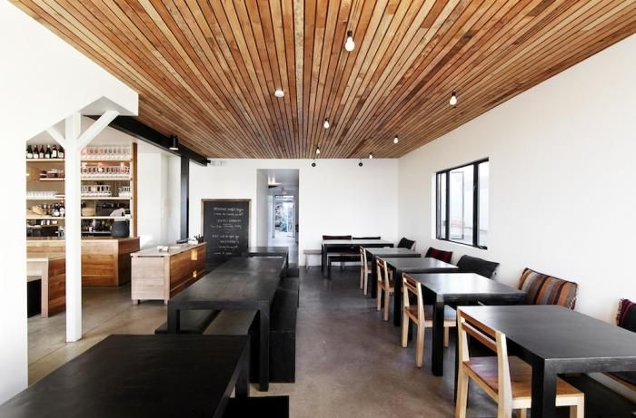 All remodelista home inspiration stories in one place for Wood floor and ceiling