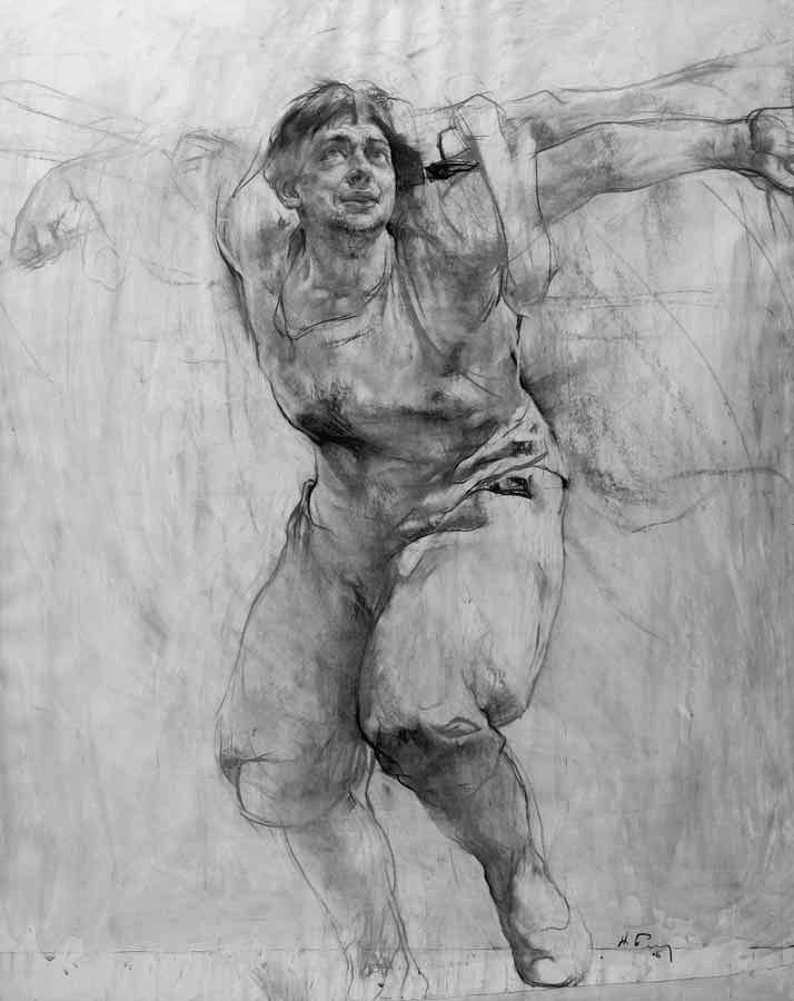 Video presentation life drawings by nikolai blokhin a contemporary fine artist from russia who keeps the old traditions of the russian art school alive