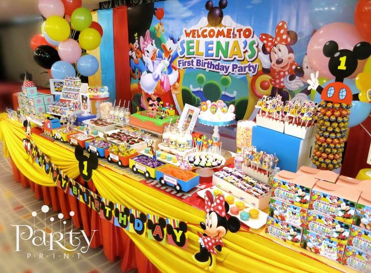 252 best Mickey Mouse Birthday Party images on Pinterest Clip art