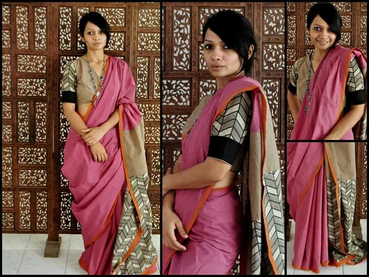 Bhang saree