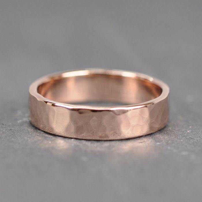 10 Radiant Rose Gold Bands For Him Weddingbandring Rose Gold Mens Wedding Band Mens Gold Wedding Band Wedding Rings Rose Gold