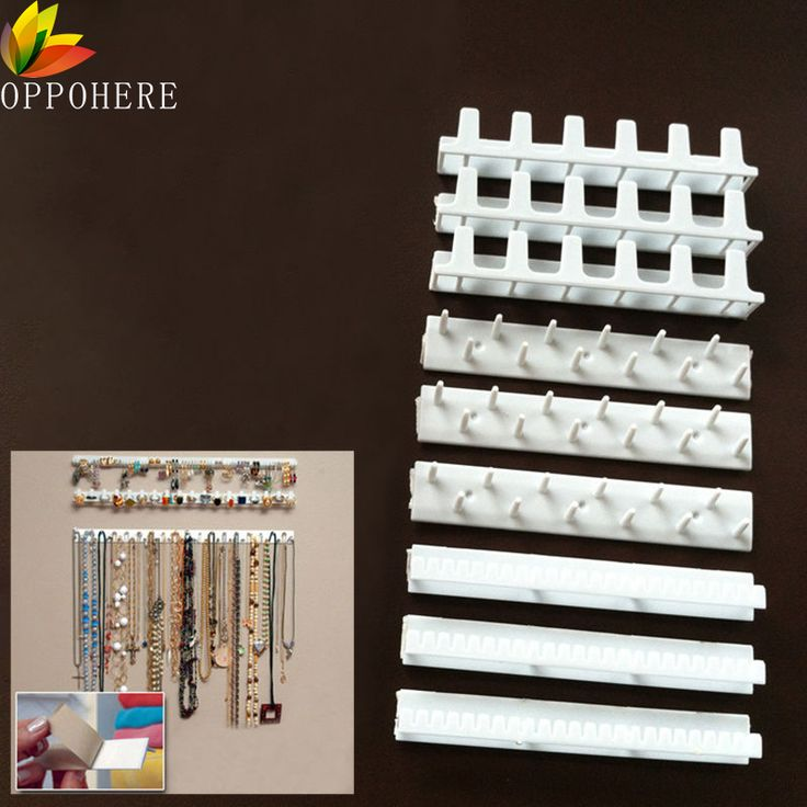 Cheap hook part, Buy Quality hanger factory directly from China hook wholesale Suppliers: OPPOHERE Jewelry Display Hanging Earring Necklace Ring Hanger Holder Rack Sticky Hooks 9X