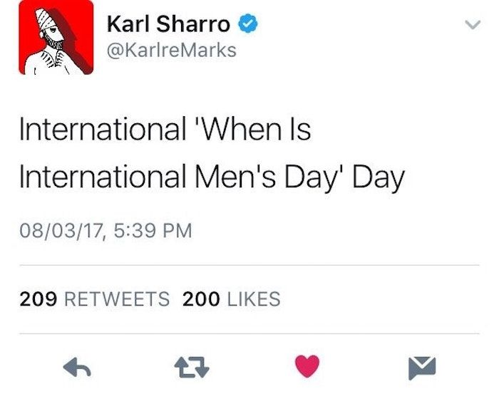 Supportive Memes About Men Google Search International Men S Day A Good Man Memes