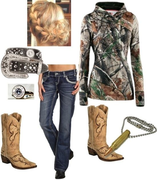 """""""Chic Camo Girl"""" by hisbballstar on Polyvore"""