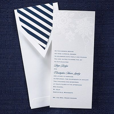 Best Winter Wedding Invitations Images On