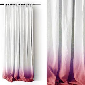 Ombré linen curtains, have you EVER?!