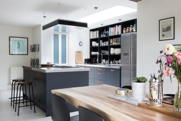 Offering a variety of seating arrangements is important in a multi-generational kitchen. Central islands with bar stools look great, but it is worth considering, will everybody be able to use these? | Kitchen: Award-winning journalist Kate Watson Smyth's kitchen featuring Miele appliances